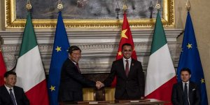 Çin'den Avrupa'ya denizden kontrol