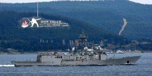 NATO'ya ait 4 gemi Marmara'ya açıldı