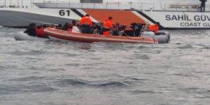 Ölümüne kaçışı Sahil Güvenlik önledi