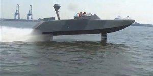 """ABD Donanması'ndan yeni """"Uçan su aracı"""""""