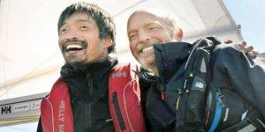 Görme engelli denizci Pasifik'i geçti