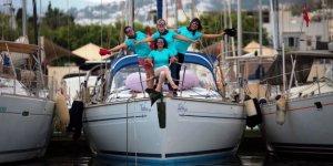 Kadın yelkenciler 19 Mayıs'ta Samsun'a çıkacak