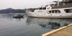 Denizi kirleten motoryata 17 bin 450 lira ceza