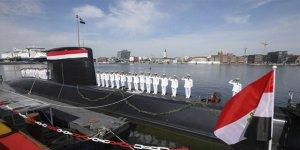 Mısır Almanya'dan üçüncü denizaltıyı teslim aldı