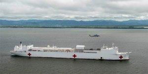 ABD, Venezuela'ya hastane gemisi gönderiyor