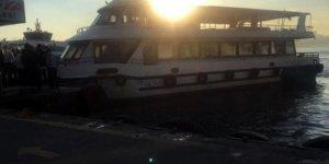 Üsküdar'da teknede can pazarı