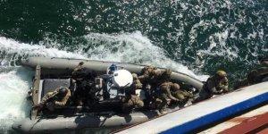 Ukraynadan Rus gemilerini ele geçirme tatbikatı