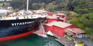 Yalıya çarpan geminin sahibine rekor ceza
