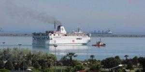 Piri Reis Üniversitesi Gemisi dönüş yolunda