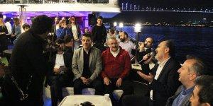 Yaf Diesel iftarında Hüseyin Başkan'dan müzik ziyafeti