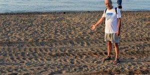 Caretta Caretta kumsalı tarla gibi sürüldü