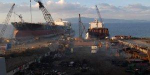 Çevreciler Kilimli'de gemi söküm tesisine karşı