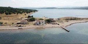 Balıkesir'de 'Çiçek' gibi ada satılık