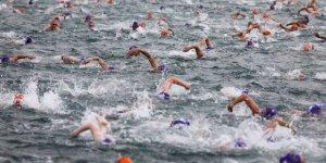 Boğaz'da yüzme yarışı için son viraj