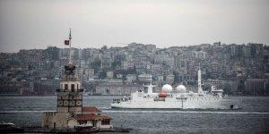 Fransız istihbarat gemisi Karadeniz'de
