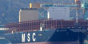 Dünyanın en büyük konteyner gemisi yola çıktı
