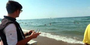 Deniz ve plajlarda drone denetimi başladı