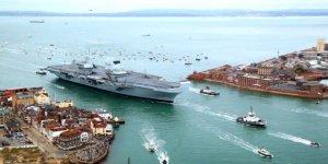 HMS Queen Elizabeth sızıntı nedeniyle limana çekildi
