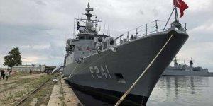 Bulgaristan'da Türk gemisi dikkat çekti