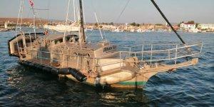 Kendi imal ettiği tekne ile dünyayı gezdi