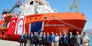 """KKTC'de """"Gemi Kurtaran"""" römorkörü görevde"""