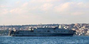 NATO savaş gemileri Karadeniz'den ayrıldı