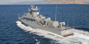 Yunan donanmasının yeni gemisi testlere başladı