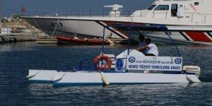 Kuşadası kıyıları artık daha temiz