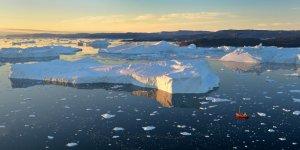 Günden güne eriyen Grönland'ın son hali
