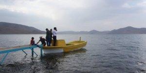 Ağrı Balık Gölü'nde festival heyecanı