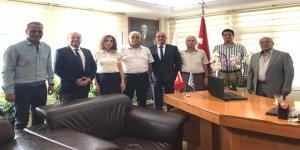 DTO İskenderun Şubesi'nden, Ertekin'e ziyaret