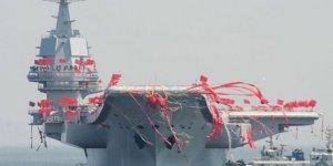 Çin'in yerli uçak gemisi teslimata hazır