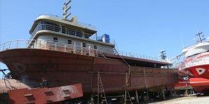 Moritanya ve Gürcistan'ın balıkçı gemileri Türkiye'den