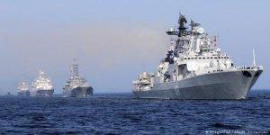 Rus Donanması'ndan Akdeniz'de tatbikat