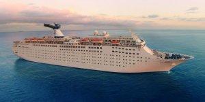 Cruise gemisi Bahamalar için ikinci yardım görevine başladı