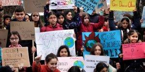 Türkiye 'Küresel İklim Grevi'nde sokaktaydı