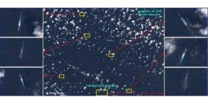 Çin gemileri, ABD uçak gemisini kuşattı