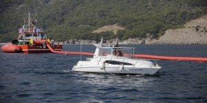 Antalya Limanı'nda deniz kirliliği tatbikatı