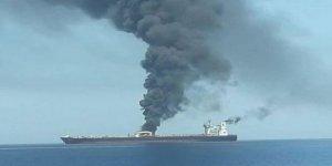 İran tankerinde patlama