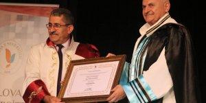 Yıldırım'a Yalova Üniversitesi'nden fahri doktora