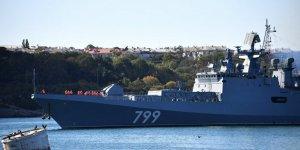 Amiral Makarov'dan Akdeniz'de gövde gösterisi