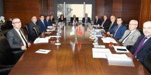 Bakanlık ve DTO Yöneticileri toplandı