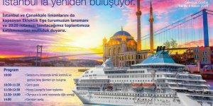 Her çarşamba İstanbul'dan kalkacak