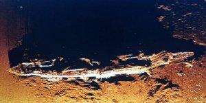 Pasifik'te uçak gemisi batığı bulundu
