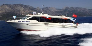 Antalya deniz otobüsüseferi kaldırıldı