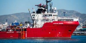 İtalya'dan Ocean Viking gemisine izin çıktı