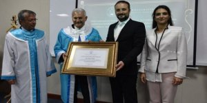 Binali Yıldırım'a 'Fahri Doktora' unvanı verildi