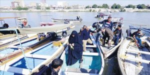 Iraklılar teknelere akın etti