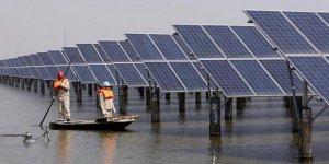 Dünyanın en büyük yüzen güneş enerjisi santrali