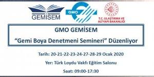 GMO'dan 'Gemi boya denetmeni' semineri